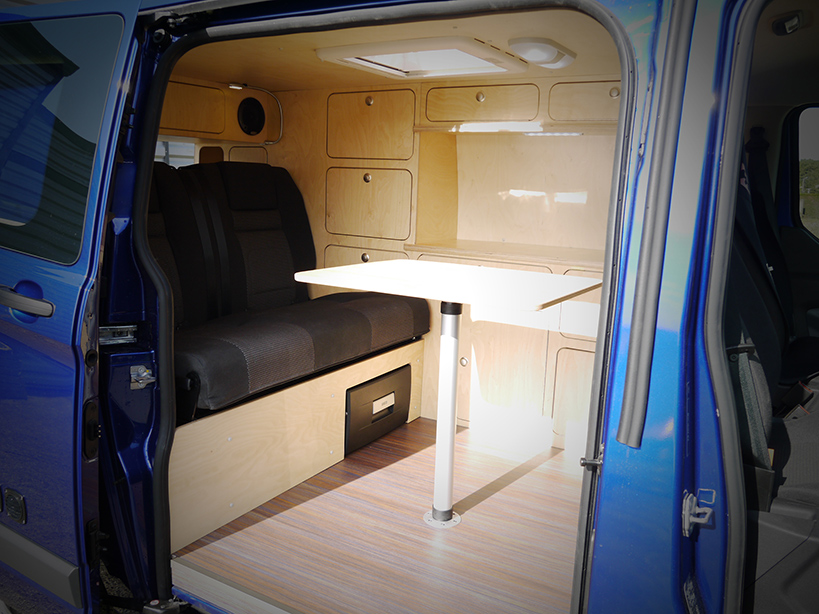 Ford Transit Connect >> FORD TRANSIT CUSTOM Erwan - LD Camp